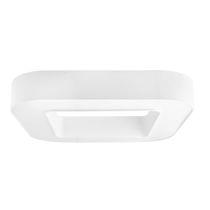 Surface-mounted light fixture / LED / fluorescent / rectangular