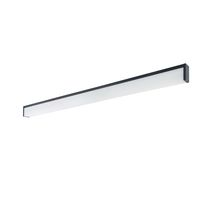 Surface mounted lighting profile / hanging / LED / fluorescent