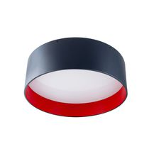 Surface-mounted light fixture / LED / fluorescent / round