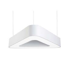 Hanging light fixture / LED / fluorescent / triangular