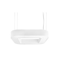 Hanging light fixture / LED / fluorescent / square