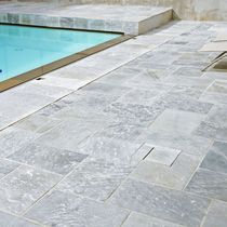 Outdoor tile / floor / quartzite / polished