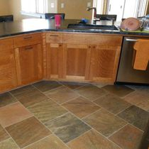 Indoor tile / floor / slate / polished