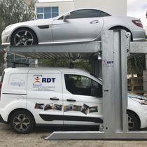 Hydraulic parking platform / double-decker