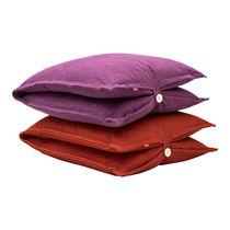 Floor cushion / rectangular / plain / fabric