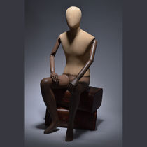 Male display mannequin / vintage / seated