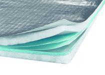 Thermal insulation / cellulose wadding / for roofs / for attics