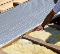 HPV roofing barrier / insulating