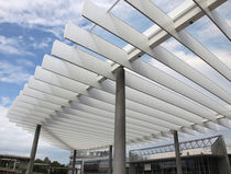 Construction composite panel / aluminum / for exterior fittings