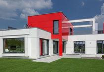 Composite cladding / aluminum / high-gloss / panel