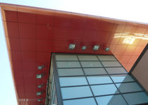 Cover composite panel / aluminum / for exterior fittings