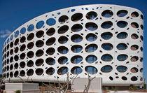 Composite cladding / aluminum / perforated / panel