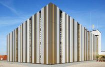 Composite cladding / aluminum / smooth / panel