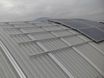 Tiled roof mounting system / on-roof / for PV applications