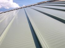Aluminum roofing / worked