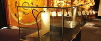 Recessed floor spotlight / indoor / outdoor / fiber optic