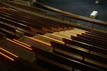 Aluminum stair nosing / with LED profile / non-slip