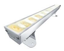 Surface-mounted light fixture / LED / linear / aluminum