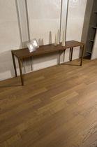 Engineered parquet flooring / glued / oiled / aged