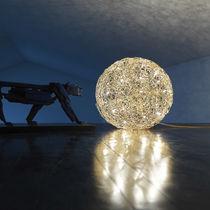 Floor lamp / original design / aluminum / LED