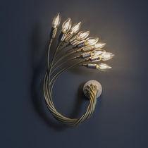 Original design wall light / aluminum / brass / nickel