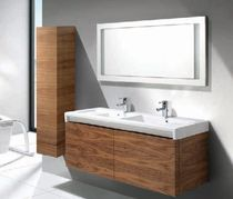2 bowl built-in washbasin STRATUM ROCA
