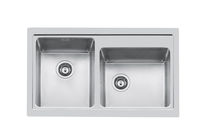 2 bowl stainless steel kitchen sink S4000 86.2V.Q4 - 4382 060  Foster