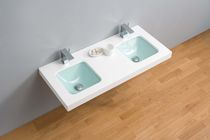 2 bowl wall-hung washbasin DÚO The Bath Collection