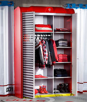 2 door kids wardrobe (boy) BIGARAGE Cilek AS