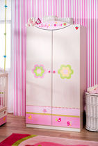 2 door kids wardrobe (girls) BABY FLOWER Cilek AS