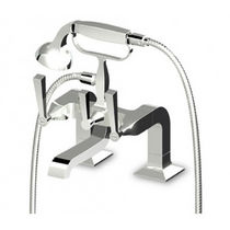 2 hole bath-tub double handle mixer tap BELLAGIO - ZB2248 ZUCCHETTI RUBINETTERIA