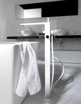 2 hole bath-tub double handle mixer tap LOUNGE noken