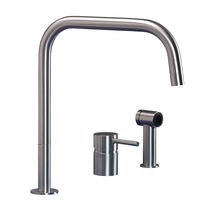 2 hole kitchen single handle mixer tap F2 SQ SP MGS Progetti