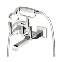 2 hole wall-mounted double handle mixer tap for bath-tub BELLAGIO - ZB2228 ZUCCHETTI RUBINETTERIA
