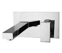 2 hole wall-mounted washbasin single handle mixer tap ZEN : 5345600 Grifer&iacute;as Galindo