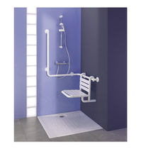 Ceramic shower / handicapped / rectangular
