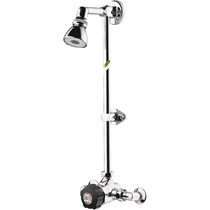 Wall-mounted shower set / contemporary / with adjustable shower head
