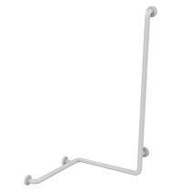 Aluminum grab bar / ABS / corner / wall-mounted