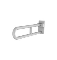 Aluminum grab bar / U-shaped / wall-mounted / commercial