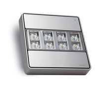 Surface mounted emergency light / square / LED / aluminum
