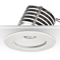 Recessed ceiling spotlight / indoor / LED / round