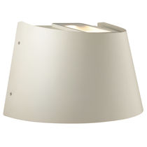 Contemporary wall light / outdoor / methacrylate / LED
