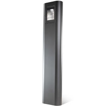 Urban bollard light / contemporary / cast aluminum / extruded aluminum