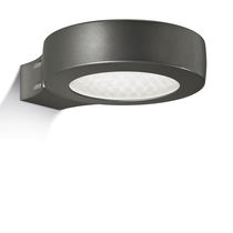 Contemporary wall light / outdoor / cast aluminum / PMMA