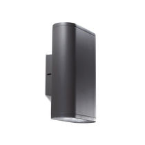 Contemporary wall light / outdoor / cast aluminum / extruded aluminum