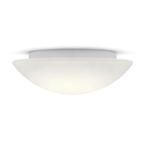 Surface-mounted light fixture / LED / round / metal