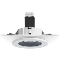 Recessed downlight / LED / round / commercial