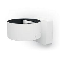 Contemporary wall light / cast aluminum / LED / round