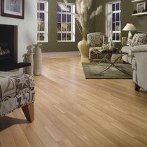 Beech laminate flooring / floating