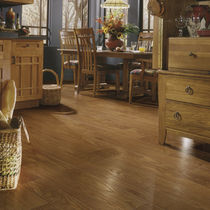 Oak laminate flooring / floating